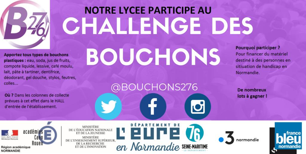 affiche challenge bouchons 276