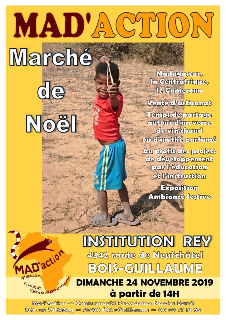 Affiche 2019 Marché de Noël REY
