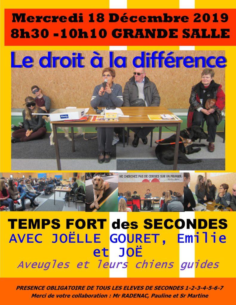 Affiche Tps Fort 2des -18 déc 2019 Droit à la différence