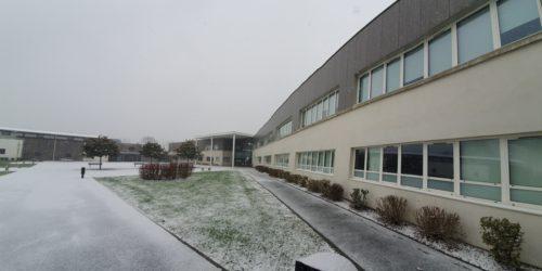 L'Institution Rey sous la neige – janvier 2021